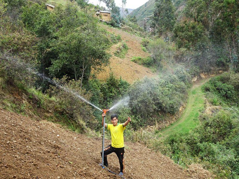 desarrollo rural riego agua