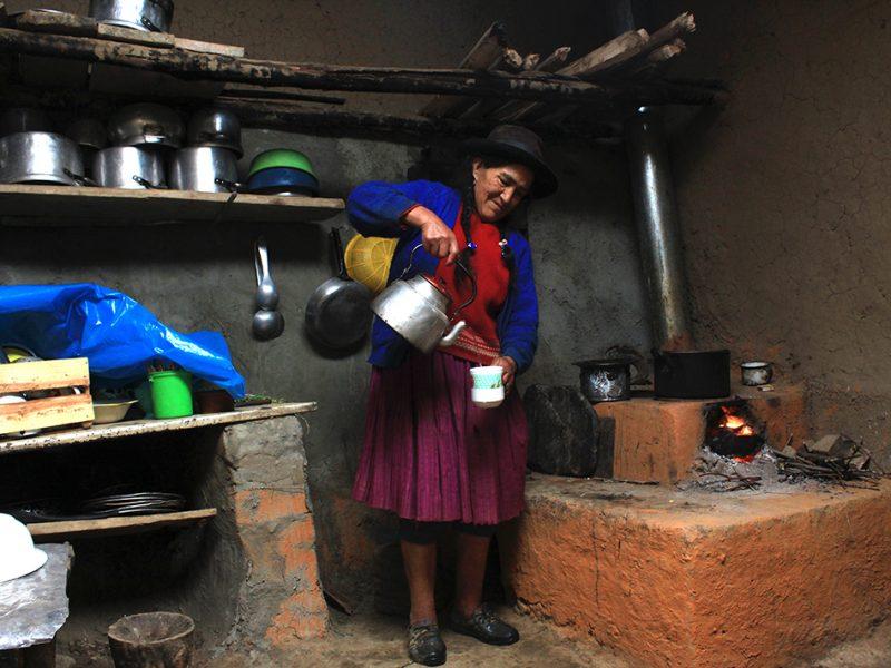 desarrollo rural cocina mejorada